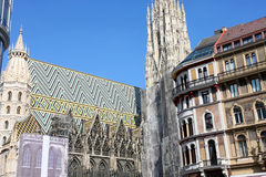 Stephansdom in Vienna, Austria Royalty Free Stock Photo