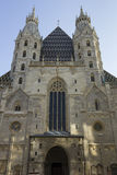 Stephansdom in Wenen Stock Foto