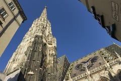 Stephansdom in Wenen Royalty-vrije Stock Afbeelding