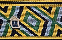 Stephansdom Wien, rooftiles Obrazy Stock