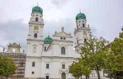 Stephansdome Passau Royalty Free Stock Photography
