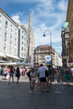 stephansplatz维也纳 库存图片