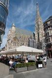 stephansplatz维也纳 免版税库存图片