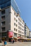 Stephansplatz fyrkant i Wien Arkivbild