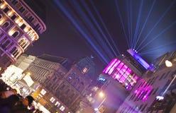 Stephansplatz of Vienna at new year's eve Royalty Free Stock Photo