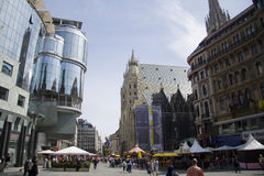 Stephansplatz Vienna Royalty Free Stock Photography