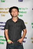 Stephen Anthony Laurent obtenant à la 18ème fête d'anniversaire de Taylor Spreitlers Photographie stock libre de droits