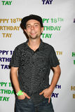 Stephen Anthony Lorenzo que llega la décimo octava fiesta de cumpleaños de Taylor Spreitlers Fotografía de archivo libre de regalías