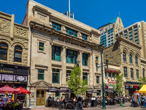 Stephen Avenue during Stampede Royalty Free Stock Photos
