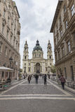 Stephen' basílica de s em Budapest fotografia de stock