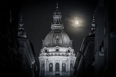 Stephen basilica in Budapest, Hungary, Europe. Stock Photos