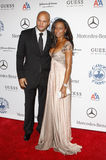 Stephen Belafonte and Melanie Brown Stock Image