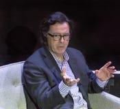 Stephen Colbert au festival 2015 de film de Montclair Photographie stock libre de droits