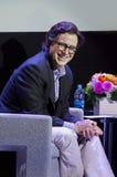 Stephen Colbert bij het de Filmfestival van Montclair van 2015 Stock Foto's