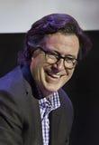 Stephen Colbert bij het de Filmfestival van Montclair van 2015 Stock Fotografie