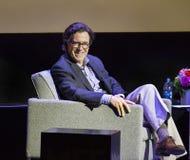 Stephen Colbert en el festival de cine 2015 de Montclair Imagenes de archivo