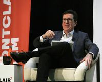 Stephen Colbert At The Montclair Film Festival Royalty Free Stock Images