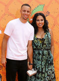 Stephen Curry and Ayesha Curry Stock Image