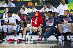 Stephen Curry of USA Stock Images