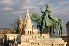 Stephen: Fisherman's bastion in Budapest, Hungary Stock Photos