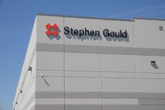 Stephen Gould custom product and packaging solutions center I. Whitestown - Circa May 2019: Stephen Gould custom product and packaging solutions center I stock image