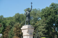 Stephen the Great, Chisinau Stock Photography