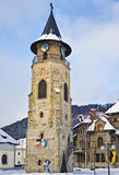 Stephen the Great Tower, Piatra Neamt stock image