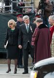 Stephen Harper at Jim Flaherty State Funeral in To Stock Photography