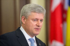 Stephen Harper Royalty Free Stock Images