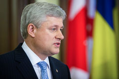Stephen Harper Stock Images