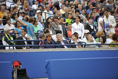 Stephen Harper premier minister at Rogers Cup 2012 Royalty Free Stock Photography