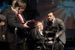 Stephen Hawking royalty free stock photo