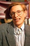 Stephen Hawking in signora Tussauds di Londra immagine stock