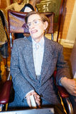 Stephen Hawking. Wax statue at the famous Madame Tussaud's museum in London. Photo taken on: Juillet 03rd, 2015 royalty free stock photography