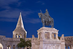 Stephen I. at the Fisherman's Bastion Stock Images