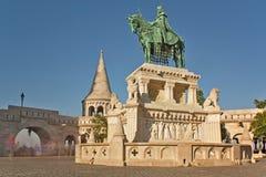 Stephen I Statue Budapest Hungary Royalty Free Stock Image