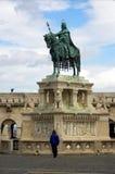 Stephen I van Hongarije royalty-vrije stock foto