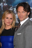 Stephen Moyer,Anna Paquin Royalty Free Stock Image
