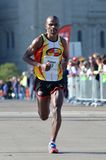 Stephen Muturi Passing Mile 26 Royalty Free Stock Images