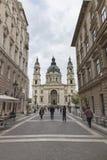 Stephen&-x27; s bazylika w Budapest fotografia stock