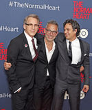 Stephen Spinella, Joe Mantello, and Mark Ruffalo Royalty Free Stock Images