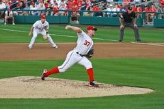 Stephen Strasburg Washington Nationals. Washington Nationals superstar young pitcher Stephen Strasburg #37 Royalty Free Stock Images