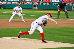 Stephen Strausburg Washington Nationals Royalty Free Stock Photography