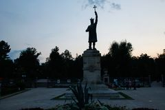 Free Stephen The Great Monument In The Center Of Chisinau, Moldova Royalty Free Stock Photography - 143386127