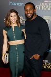 Stephen 'Twitch' Boss and Allison Holker Stock Image