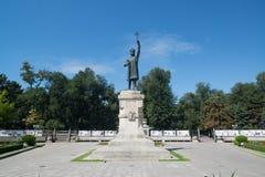 Stephen Wielki, Chisinau Fotografia Stock