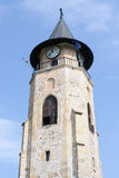 Stephe's Tower - the Piatra Neamt city symbol Stock Images
