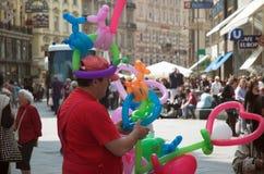 Stephenplatz Touristen Stockfotografie