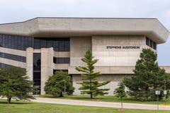 Stephens Auditorium en la universidad de estado de Iowa Foto de archivo libre de regalías