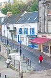 Stephens Brae Inverness. An image of Saint Stephens Brae which lies beyond Eastgate in Inverness. Brae means a small hill and in the case it is a pedestrian way Royalty Free Stock Photography